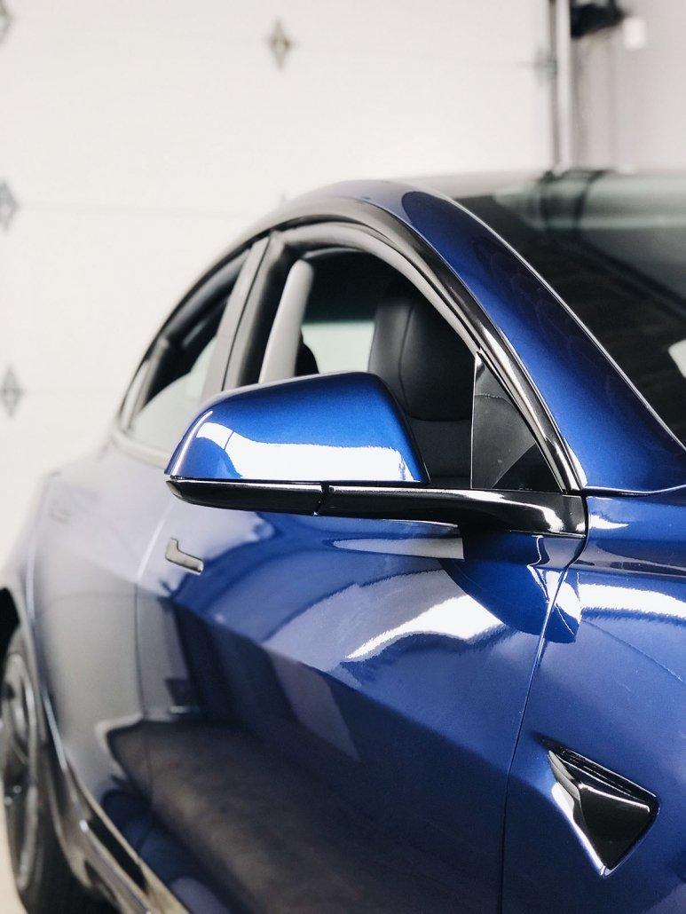Car Wrap Vancouver - Tesla Model 3 | Aegis Paint Shield