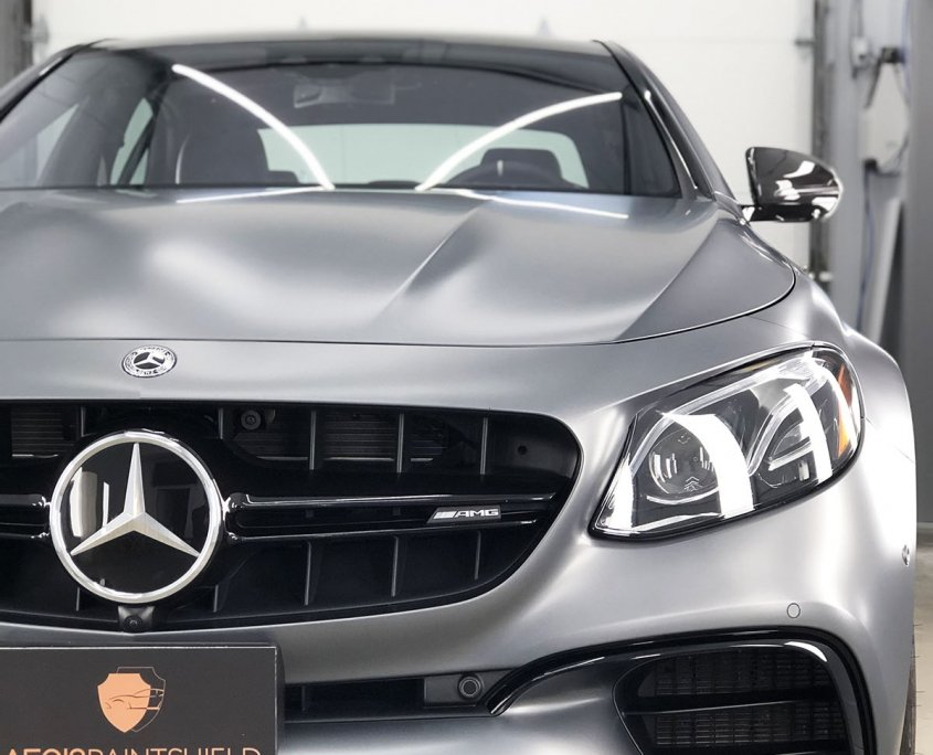 mercedes e63 stealth paint protection