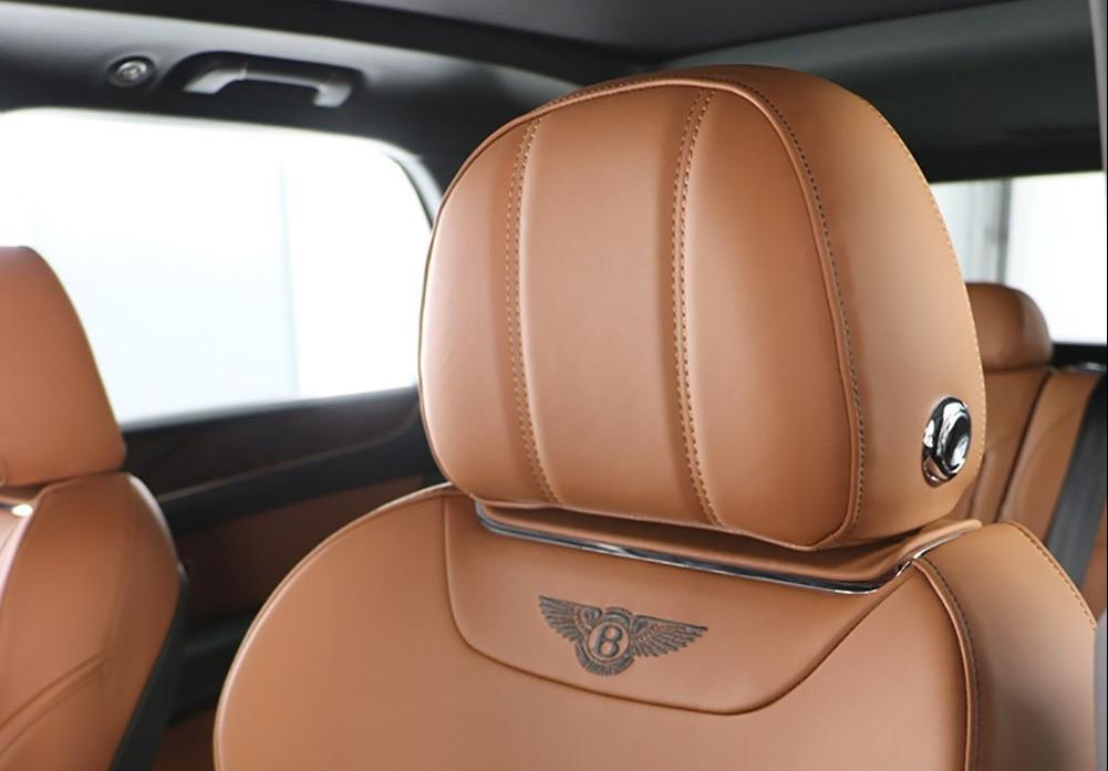 Bentley interior seat