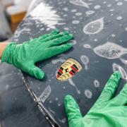 Porsche ppf wrap