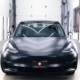 Tesla model 3 satin black