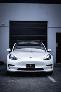 Tesla matte dechrome