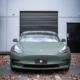 Tesla matte military green