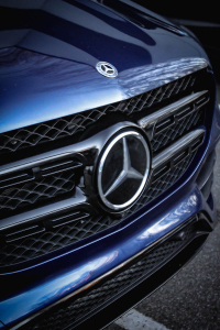 Mercedes GLS chromedelete