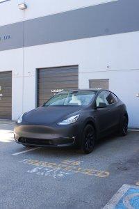 matte black model y